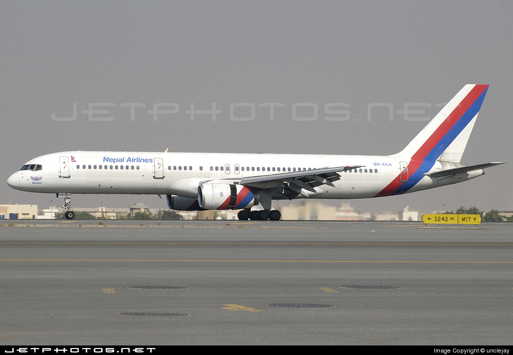 Photo of 9N-ACA Boeing 757-2F8 by Jay Selman - airlinersgallery.com