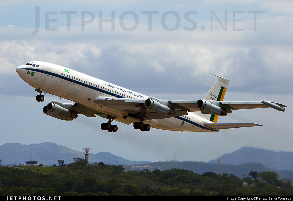Photo of FAB2401 Boeing KC-137 by Renato Serra Fonseca - AirTeamImages