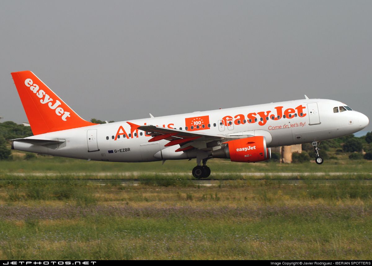 Photo of G-EZBR Airbus A319-111 by Javier Rodriguez - IBERIAN SPOTTERS