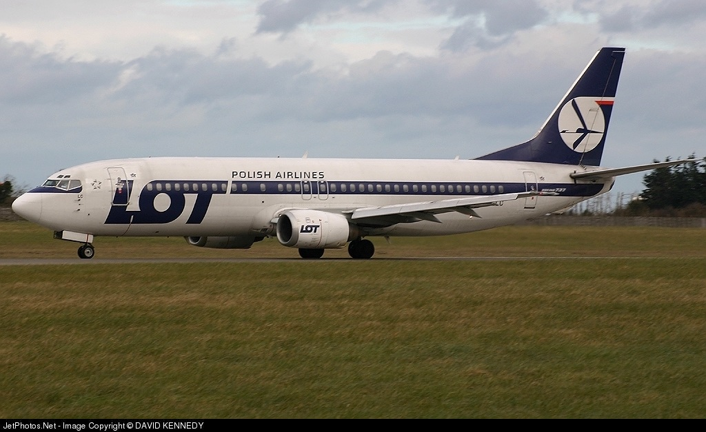 Photo of SP-LLC Boeing 737-45D by DAVID KENNEDY