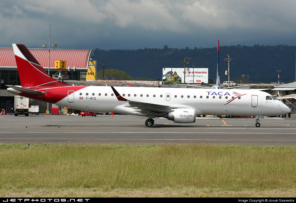 Photo of TI-BCG Embraer 190-100IGW by Josué Saavedra