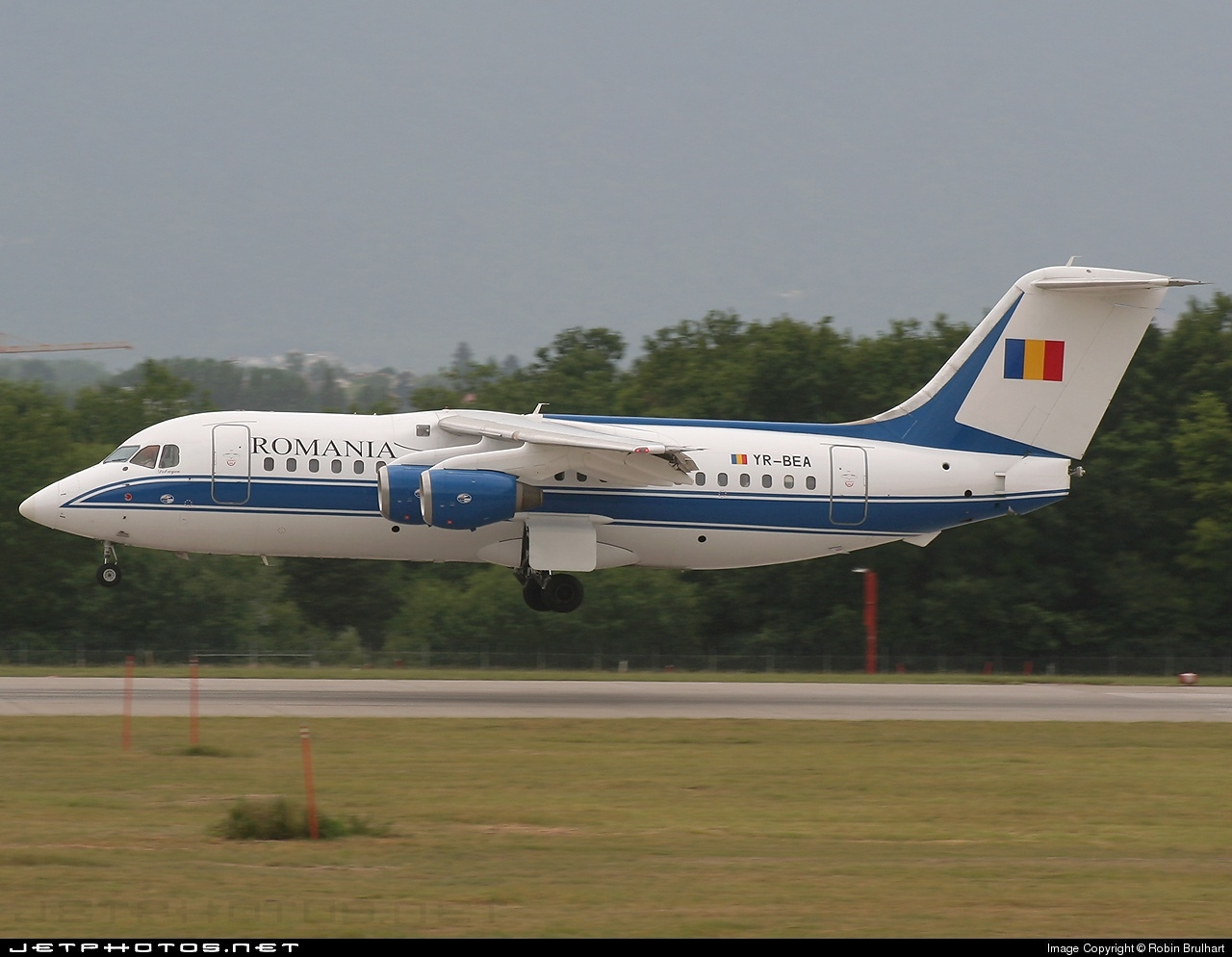 Photo of YR-BEA British Aerospace BAe 146-200 by Robin Brulhart