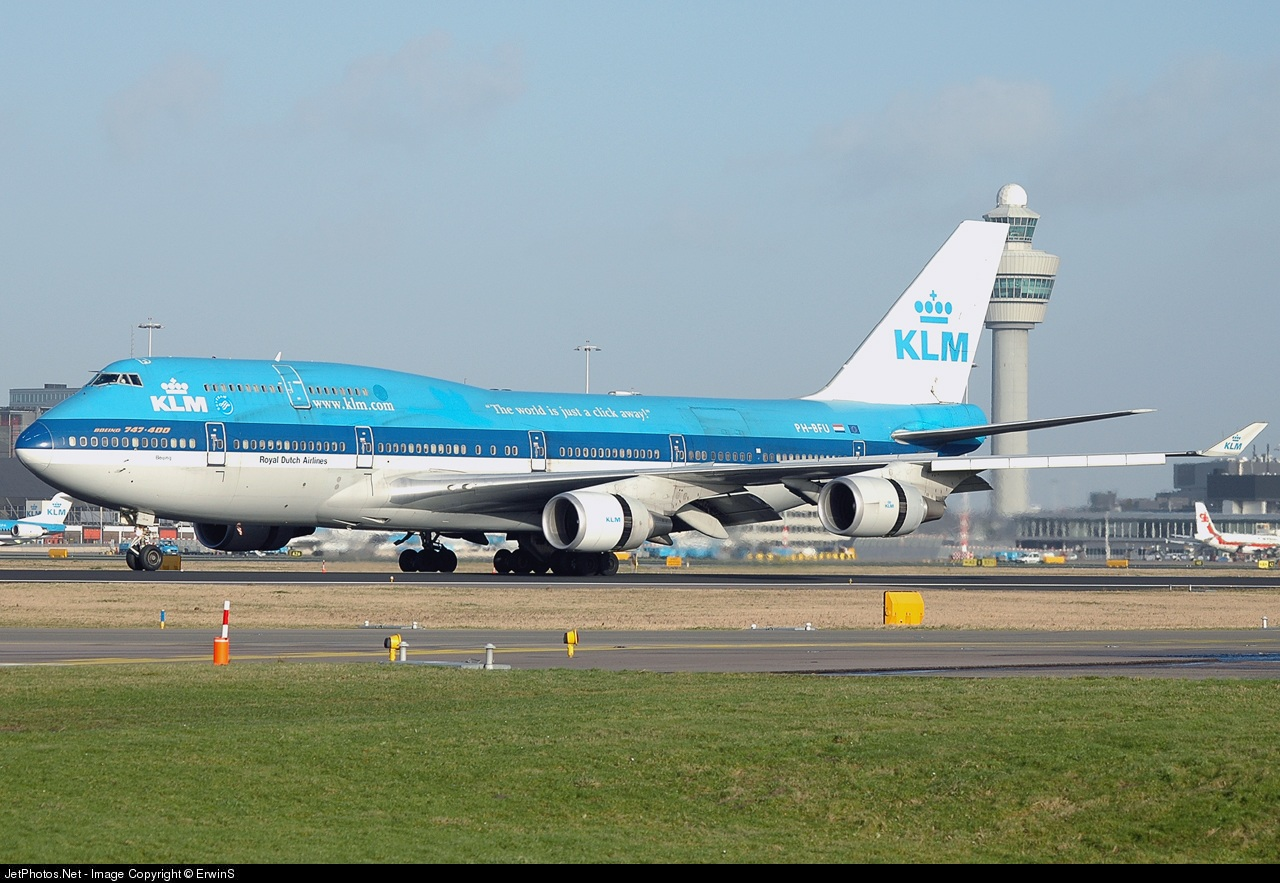 Photo of PH-BFU Boeing 747-406(M) by Dutch