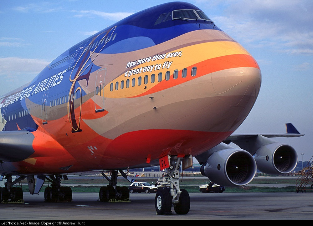 Photo of 9V-SPL Boeing 747-412 by Andrew Hunt