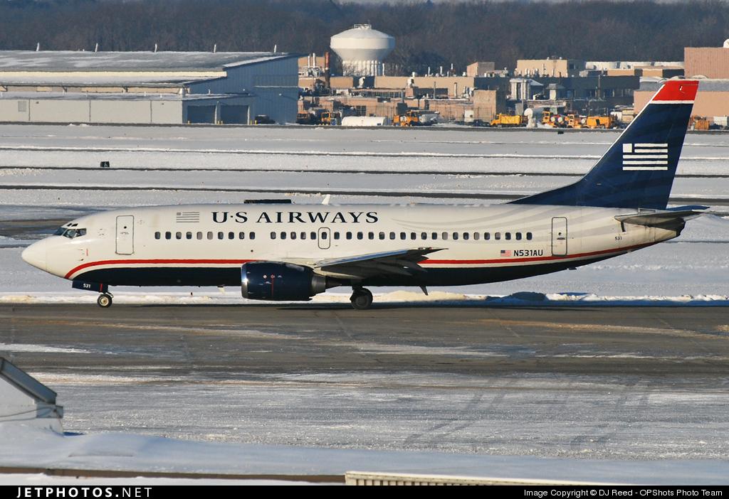 Photo of N531AU Boeing 737-3B7 by DJ Reed - OPShots Photo Team