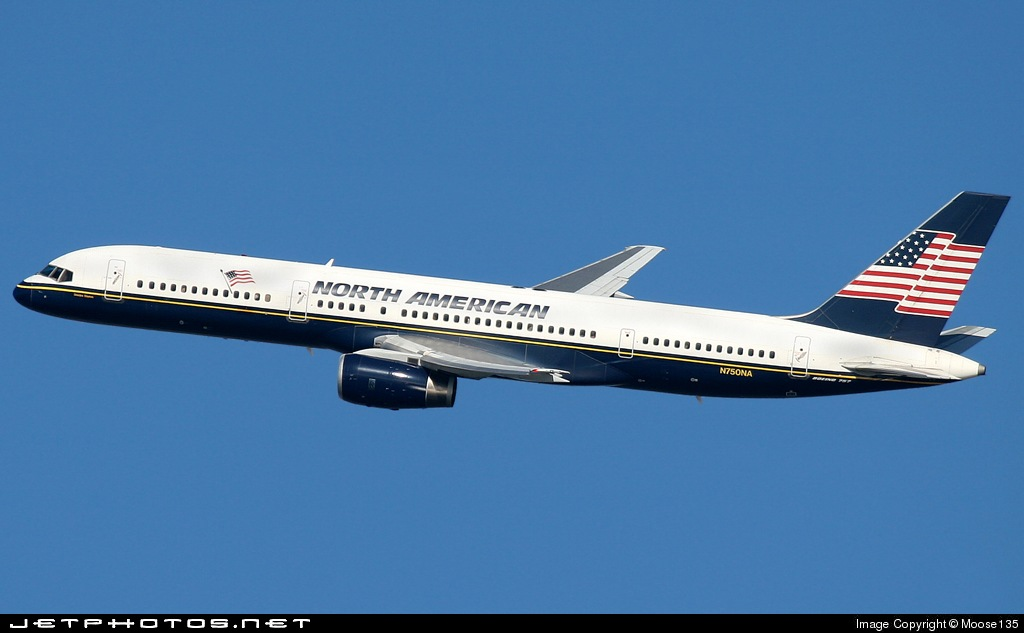 Photo of N750NA Boeing 757-28A by Moose135