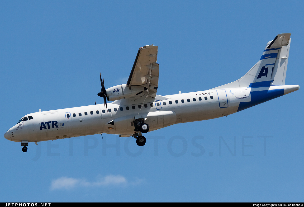 Photo of F-WWEY ATR 72-212A(600) by Guillaume Besnard