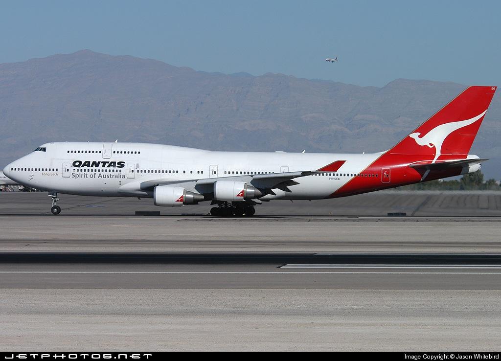 Photo of VH-OEG Boeing 747-438ER by Jason Whitebird