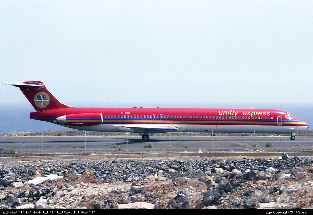 Photo of EI-BTU McDonnell Douglas MD-83 by TFS/team
