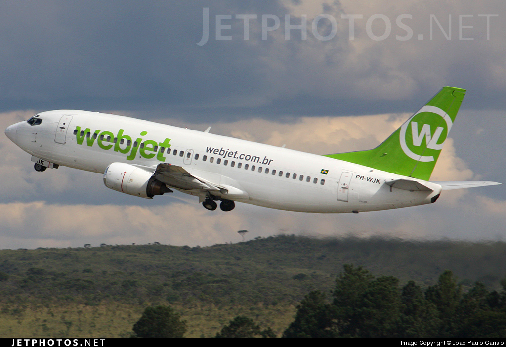 Photo of PR-WJK Boeing 737-33A by João Paulo Carisio