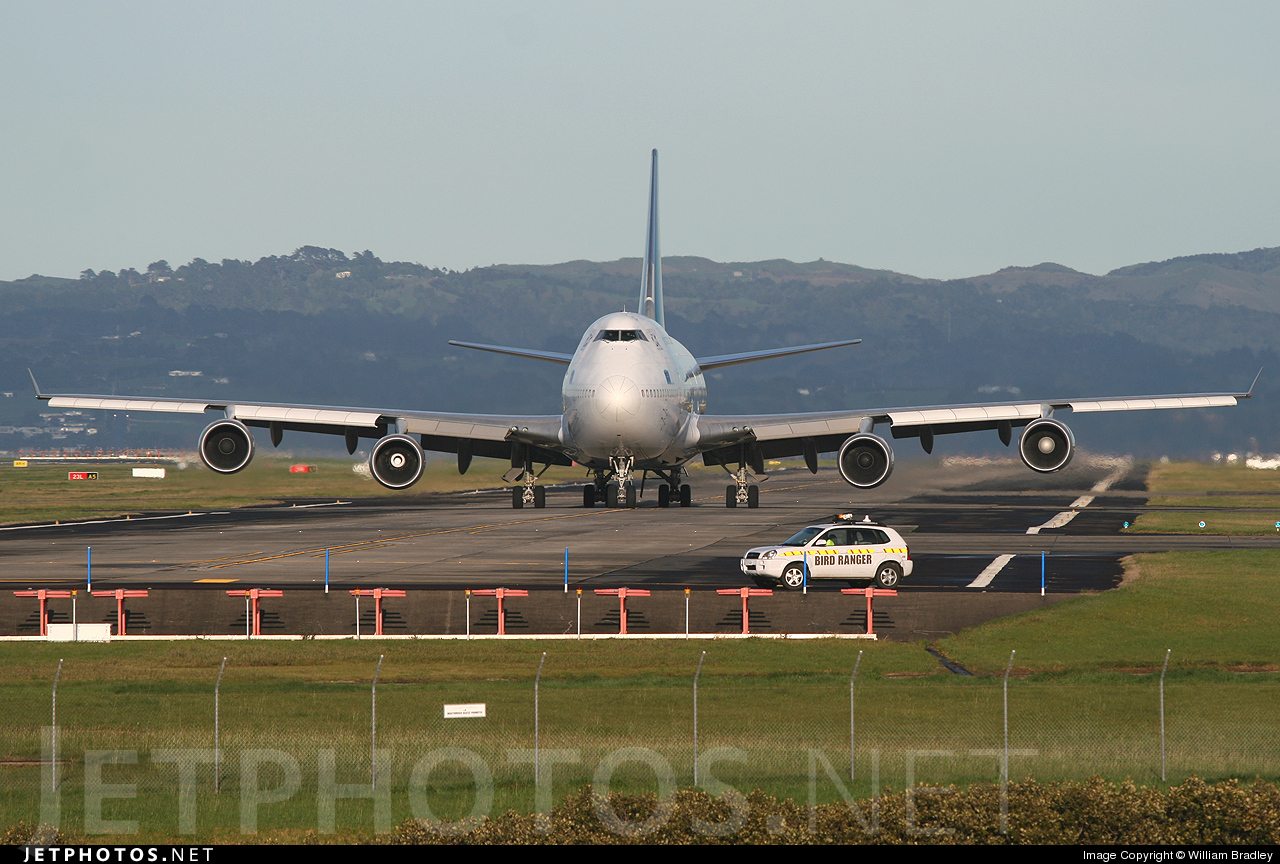 Photo of ZK-SUJ Boeing 747-4F6 by William Bradley