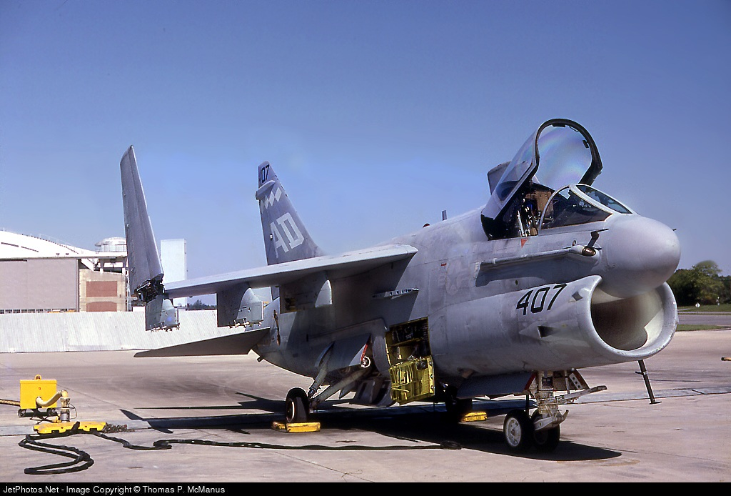 Photo of 155407 LTV A7E  Corsair II by Thomas P. McManus