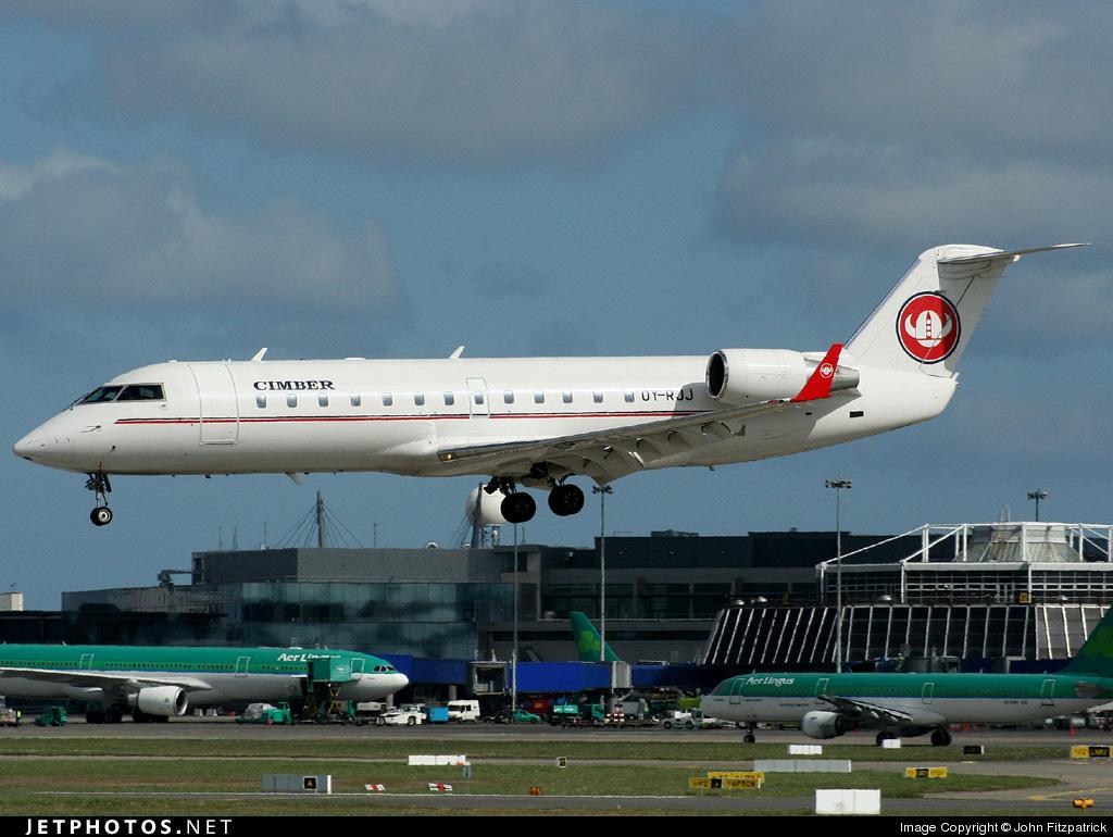 Photo of OY-RJJ Bombardier CRJ-200ER by John Fitzpatrick