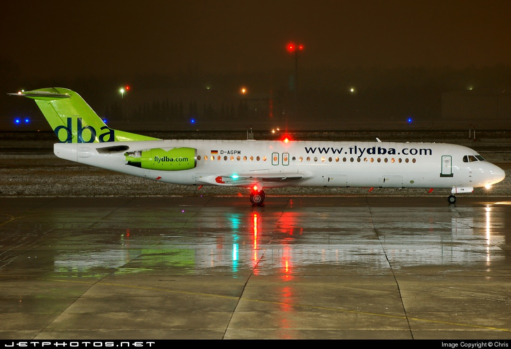 Photo of D-AGPM Fokker 100 by Chris