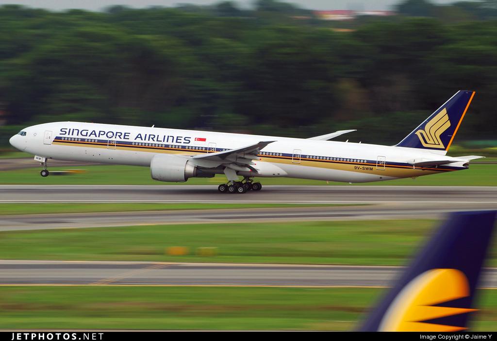 Photo of 9V-SWM Boeing 777-312ER by Jaime Y