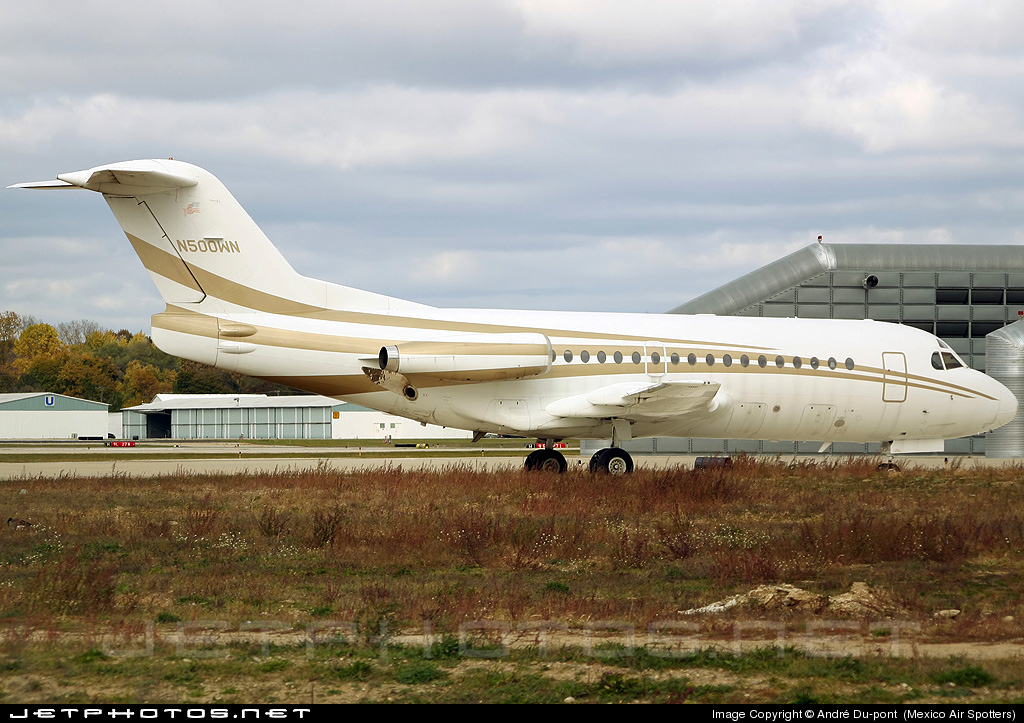 Photo of N500WN Fokker F28-1000 Fellowship by André Du-pont  (Mexico Air Spotters)