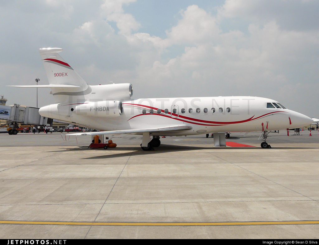 Photo of F-HBDA Dassault Falcon 900EX by Sean D Silva