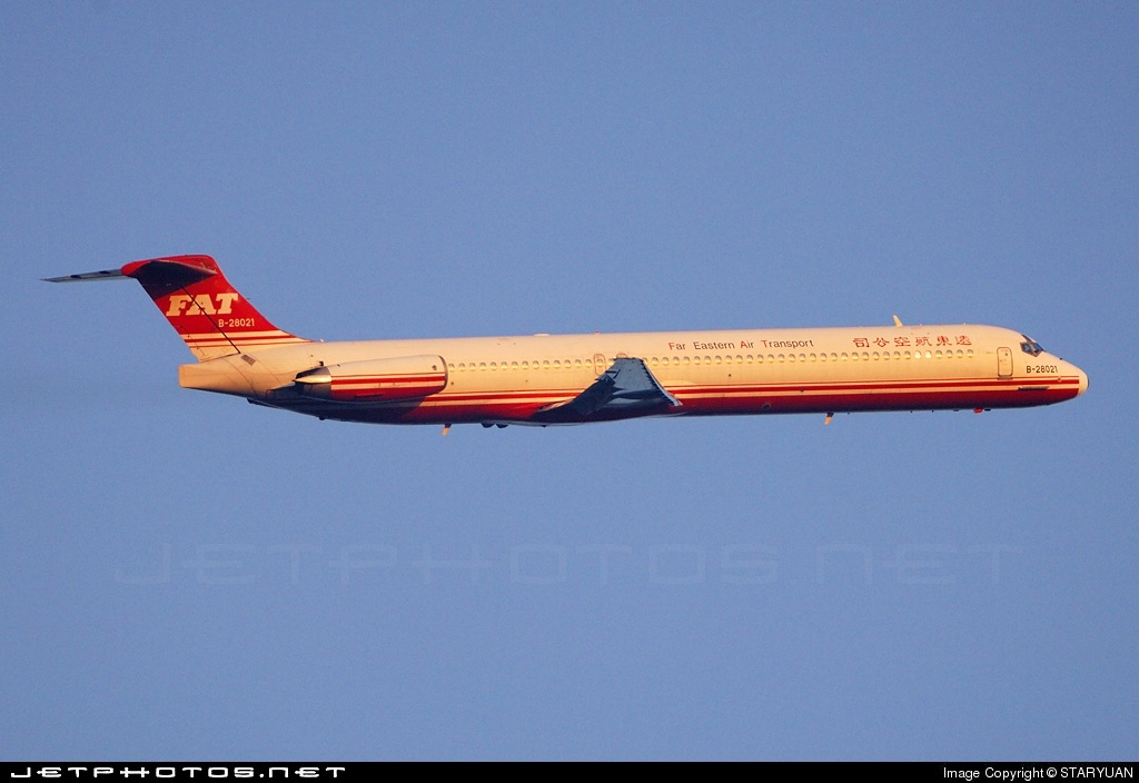 Photo of B-28021 McDonnell Douglas MD-82 by STARYUAN