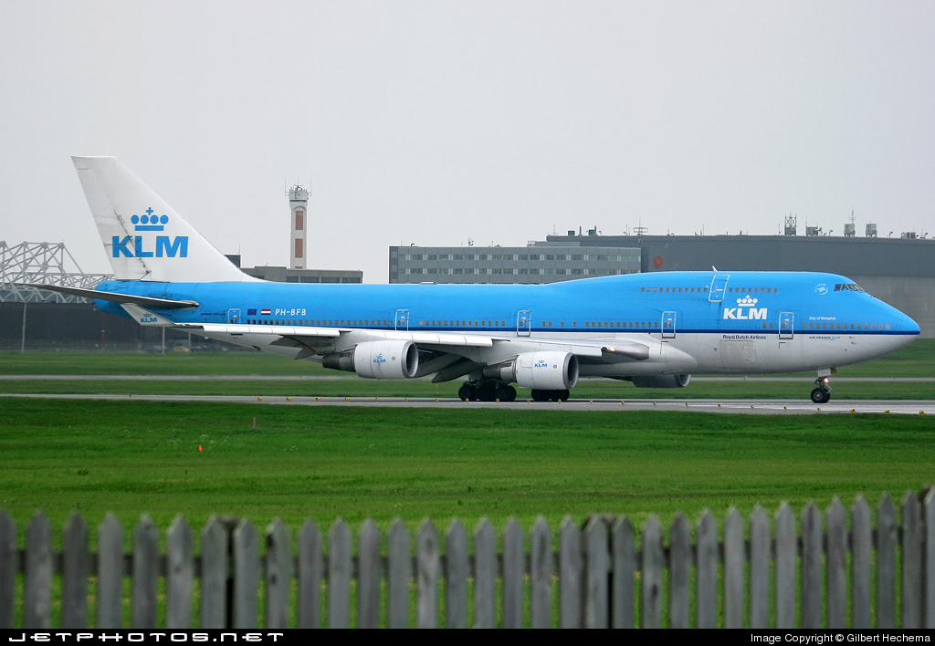 Photo of PH-BFB Boeing 747-406 by Gilbert Hechema