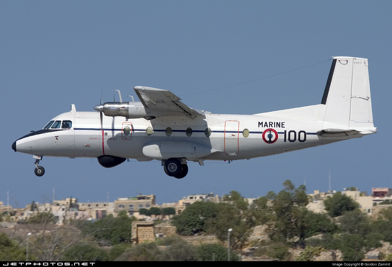Photo of 100 Nord N-262E Fregate by Gordon Zammit