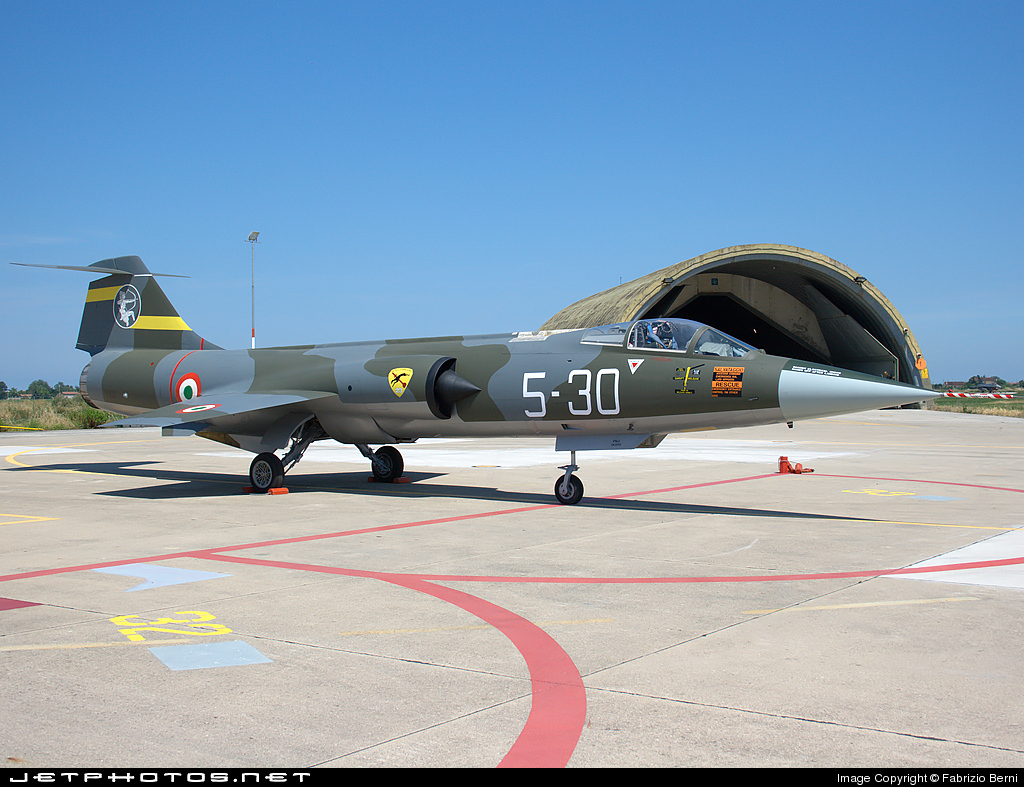 Photo of MM6940 Lockheed F-104S ASA-M Starfighter by Fabrizio Berni