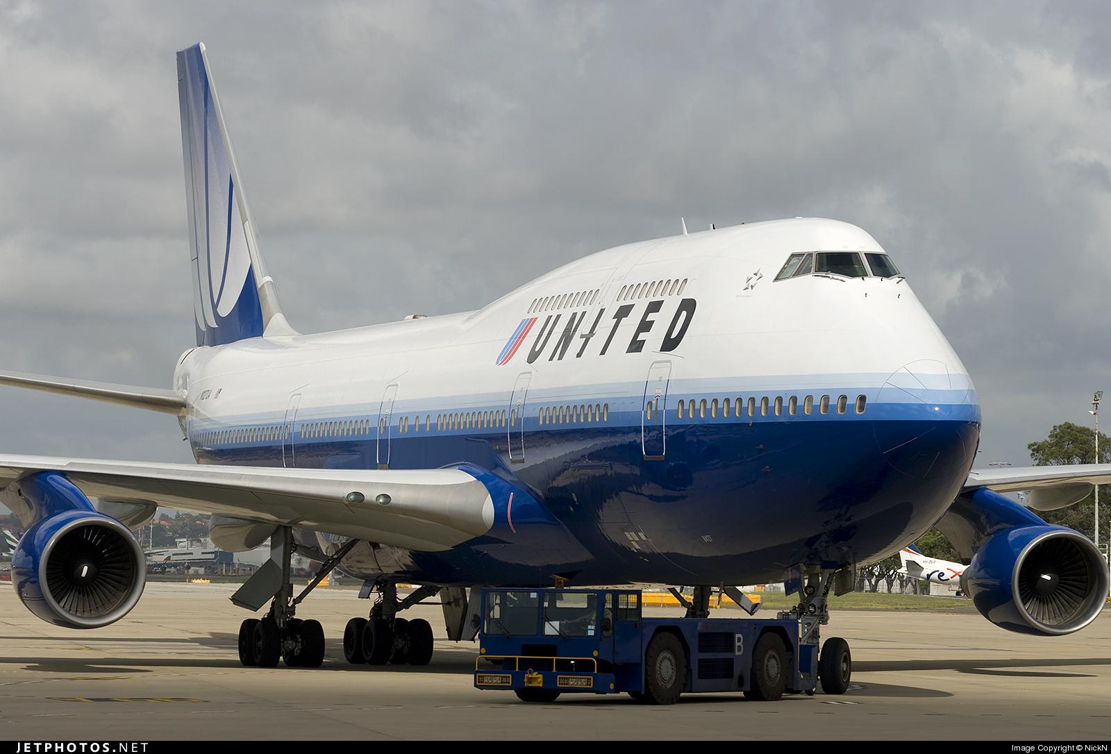 Photo of N127UA Boeing 747-422 by NickN