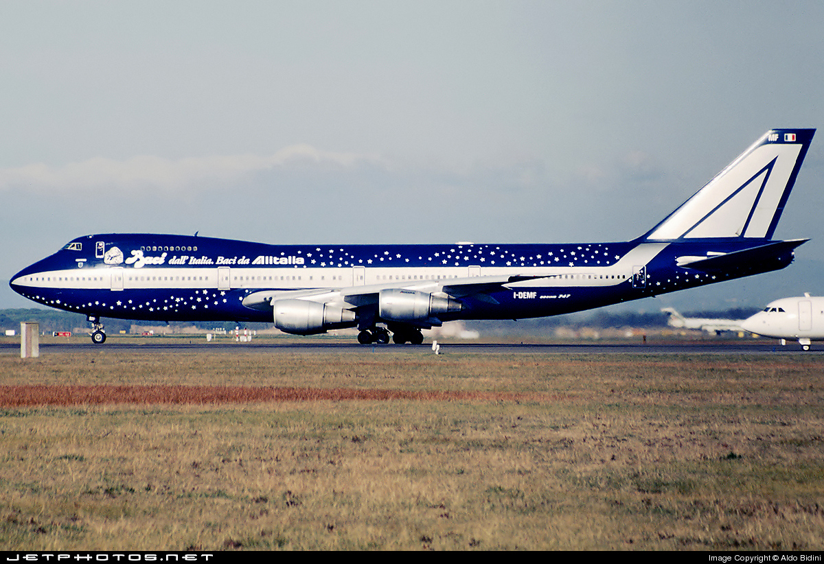 Photo of I-DEMF Boeing 747-243B by Aldo Bidini