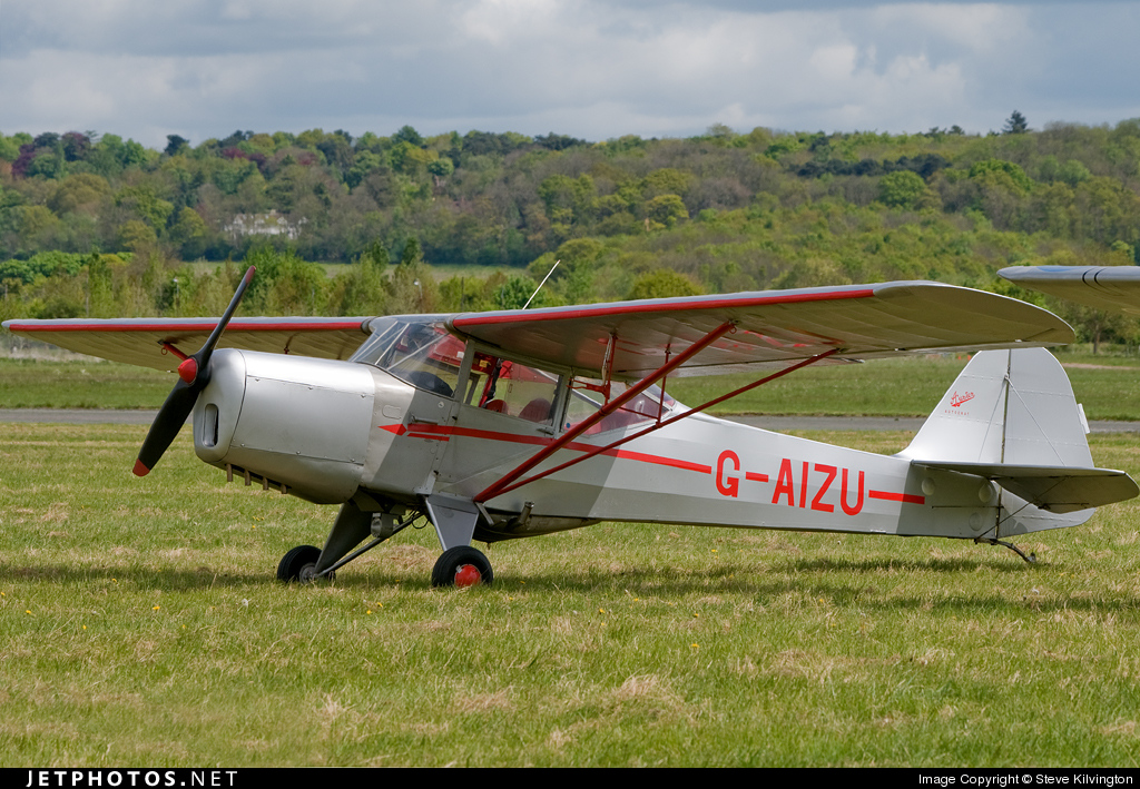Photo of G-AIZU Auster 5J1 Autocrat by Steve Kilvington