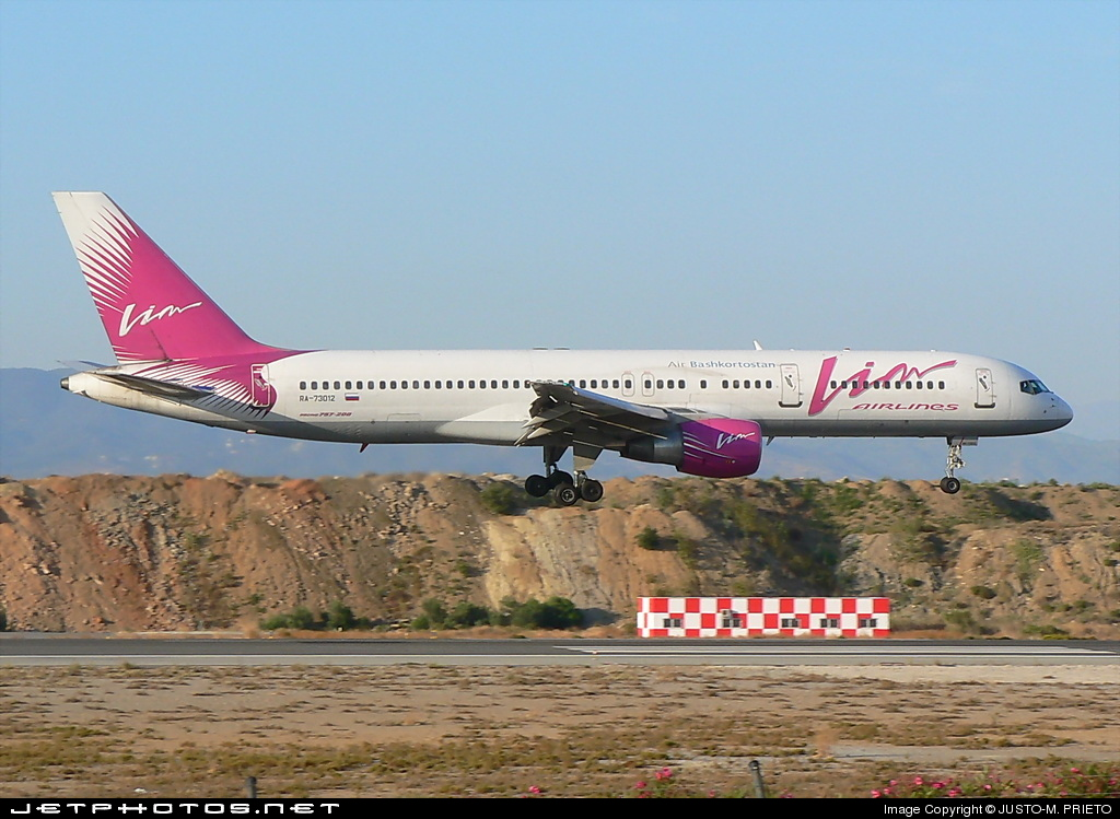 Photo of RA-73012 Boeing 757-230 by Justo-M. Prieto