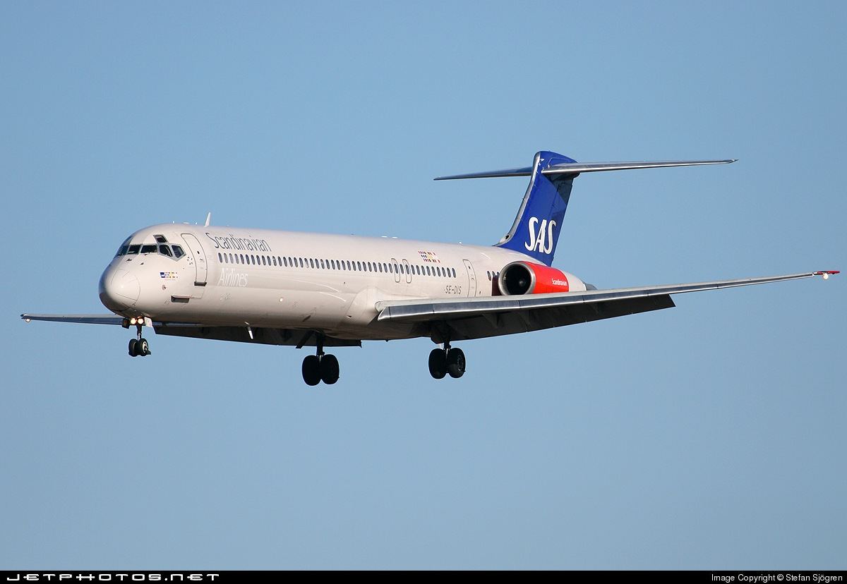 Photo of SE-DIS McDonnell Douglas MD-82 by Stefan Sjögren