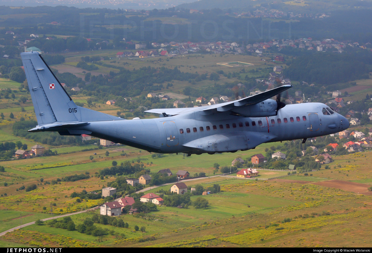 Photo of 015 CASA C-295M by Maciek Wolanski