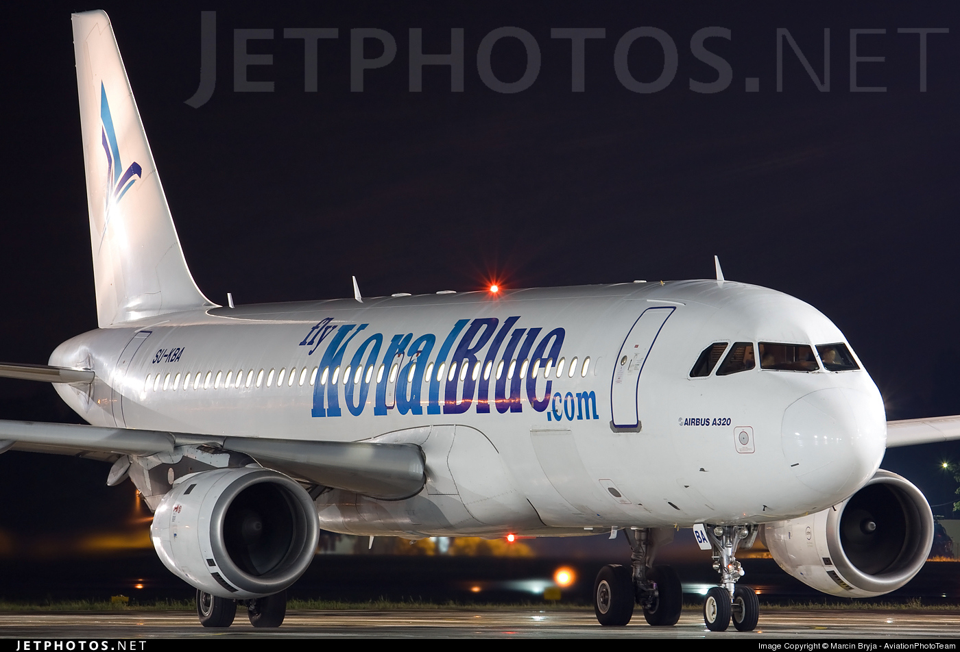 Photo of SU-KBA Airbus A320-214 by Marcin Bryja