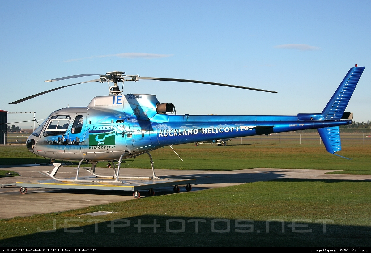 Photo of ZK-HIE Aérospatiale AS 350B Ecureuil by Will Mallinson
