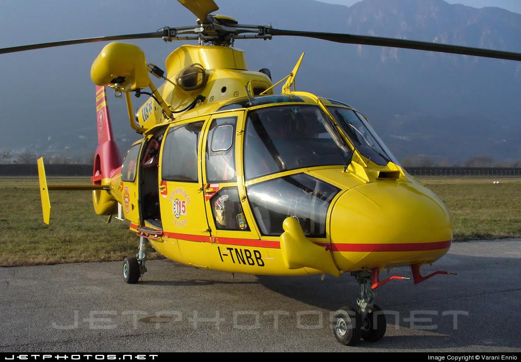 Photo of I-TNBB Aérospatiale SA 365N3 Dauphin 2 by Varani Ennio