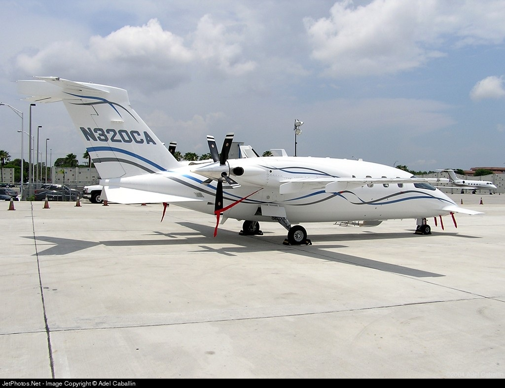 Photo of N320CA Piaggio P-180 Avanti by Adel Caballin