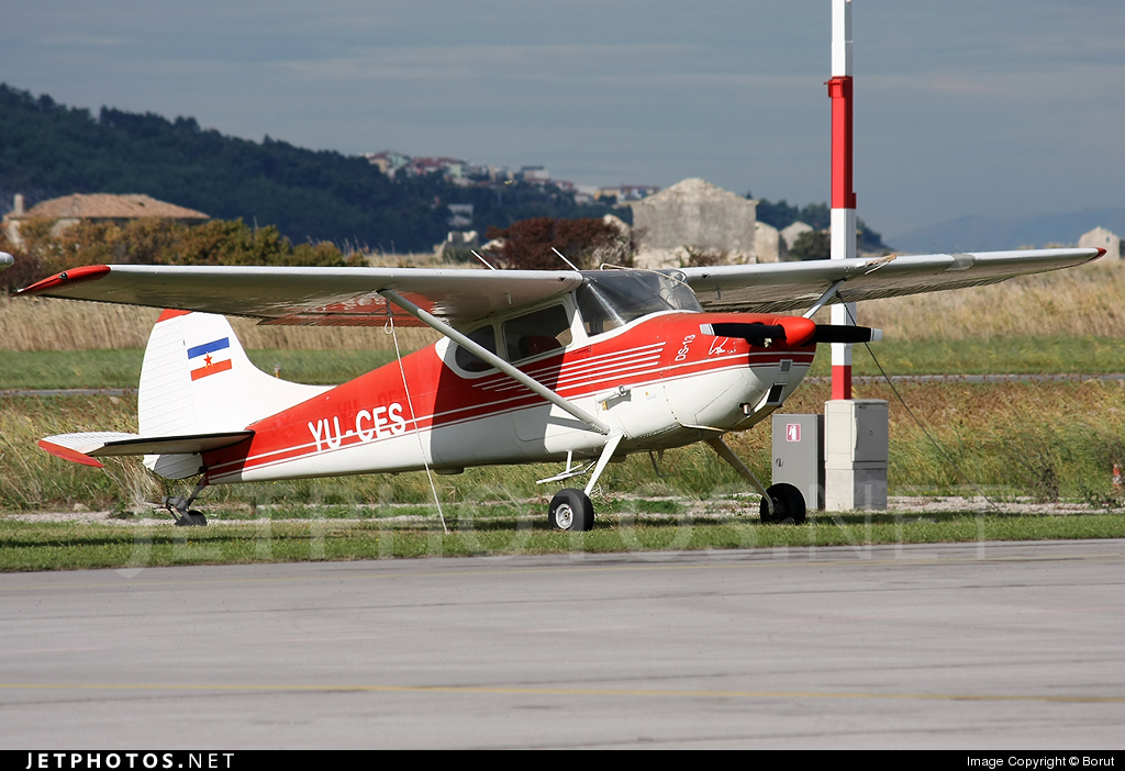 Photo of YU-CES Cessna 170B by Borut