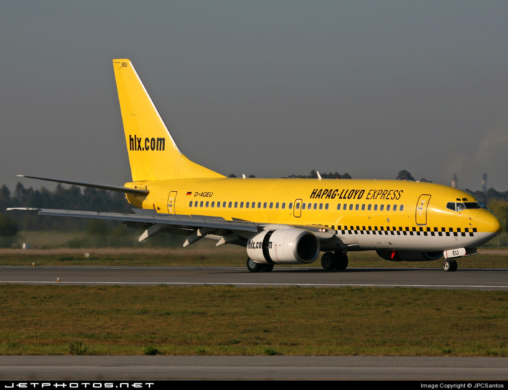 Photo of D-AGEU Boeing 737-75B by JPCSantos