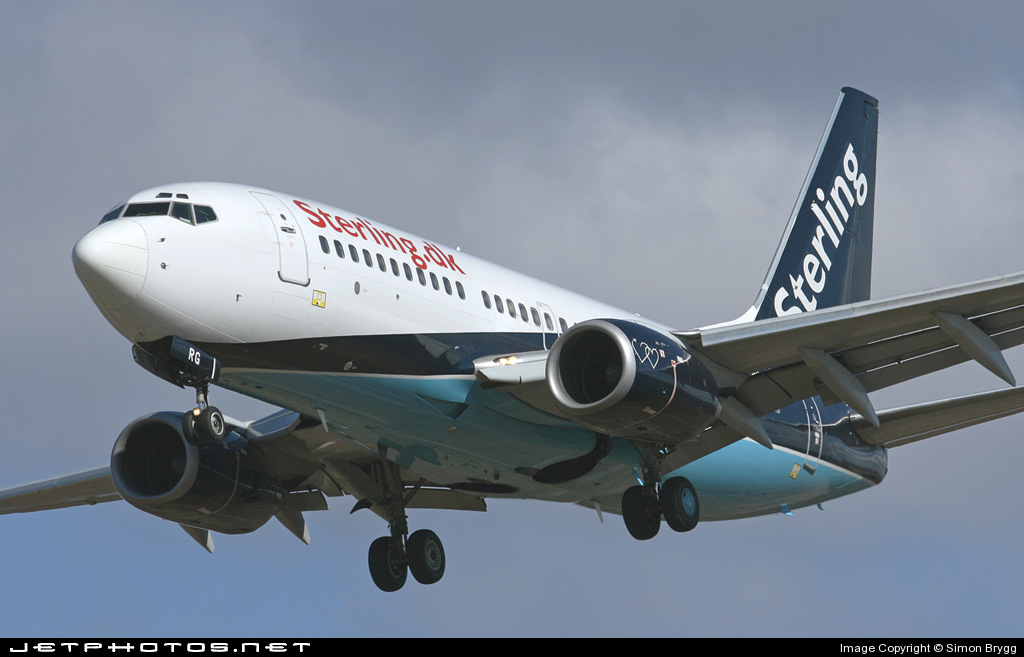 Photo of OY-MRG Boeing 737-7L9 by Simon Brygg