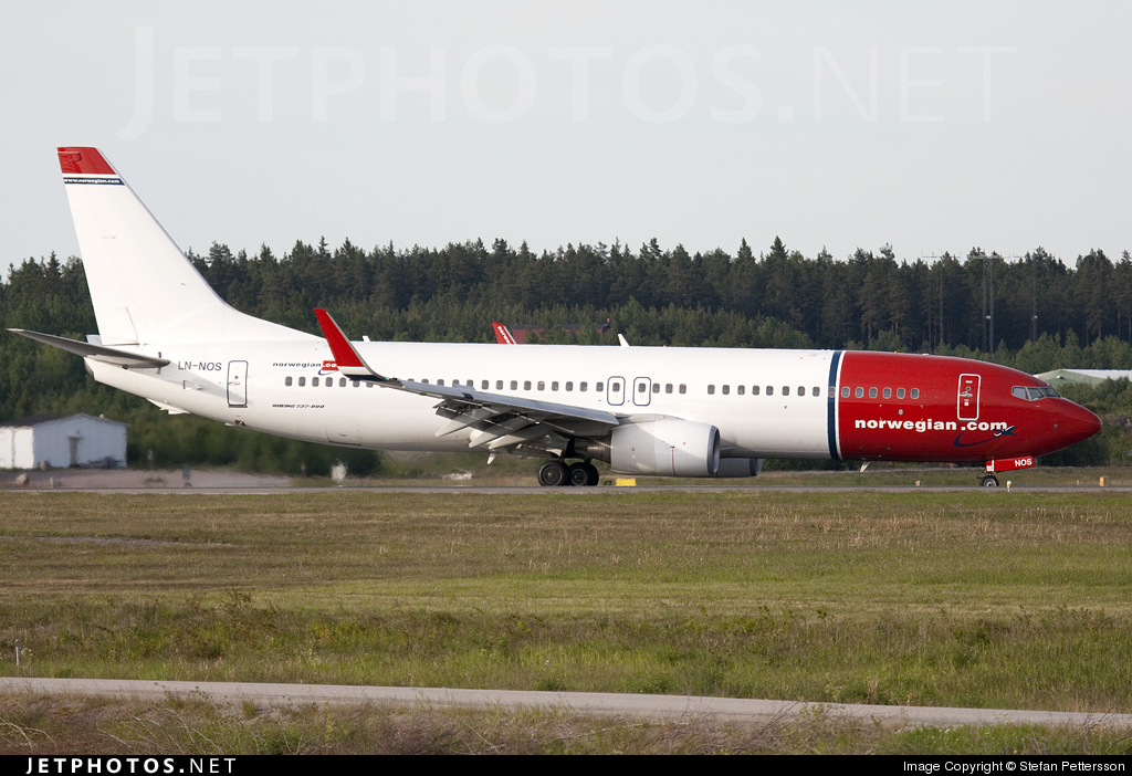 Photo of LN-NOS Boeing 737-8BK by Stefan Kronqvist