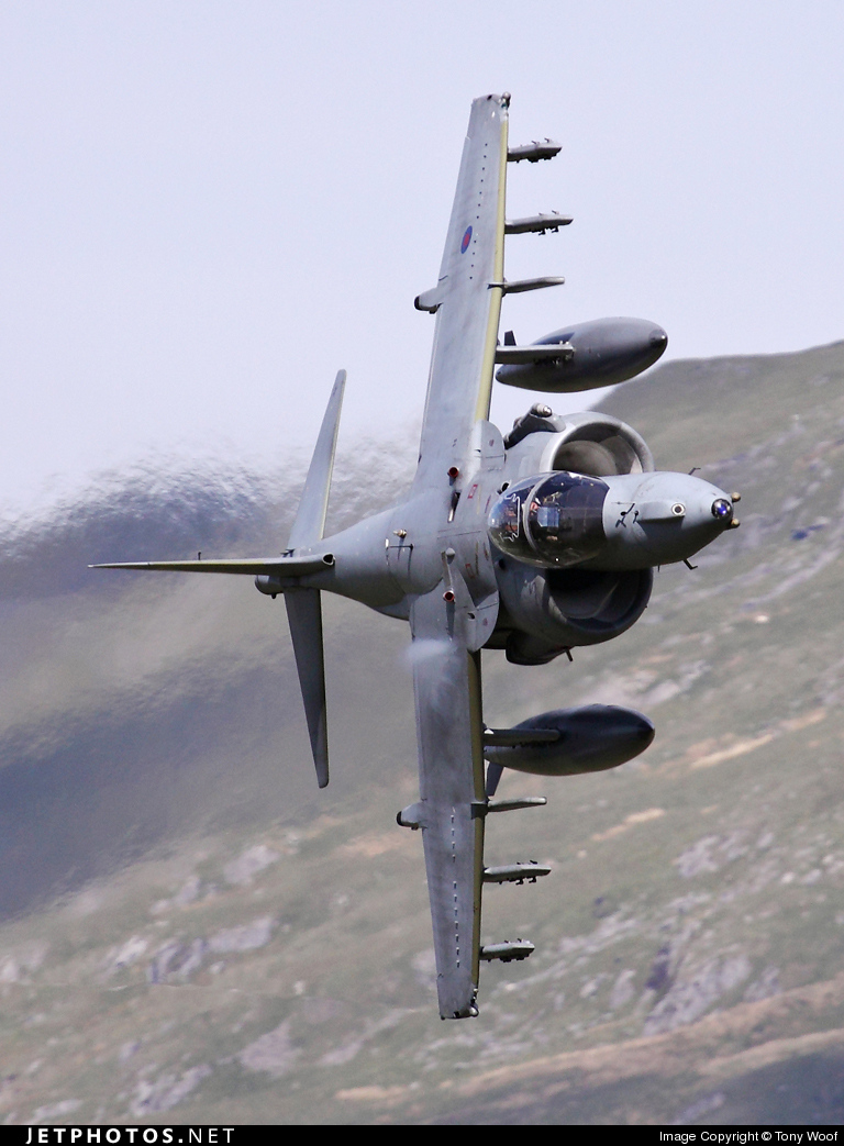 Photo of ZD438 British Aerospace Harrier GR.9 by Tony Woof