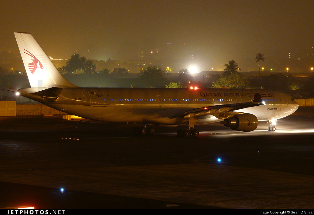 Photo of A7-AEA Airbus A330-303 by Sean D Silva