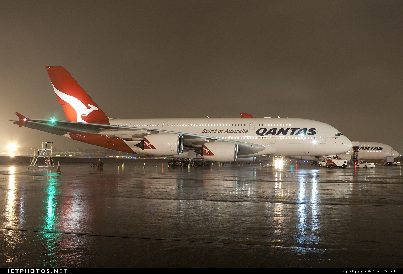 Photo of VH-OQF Airbus A380-842 by Olivier Corneloup