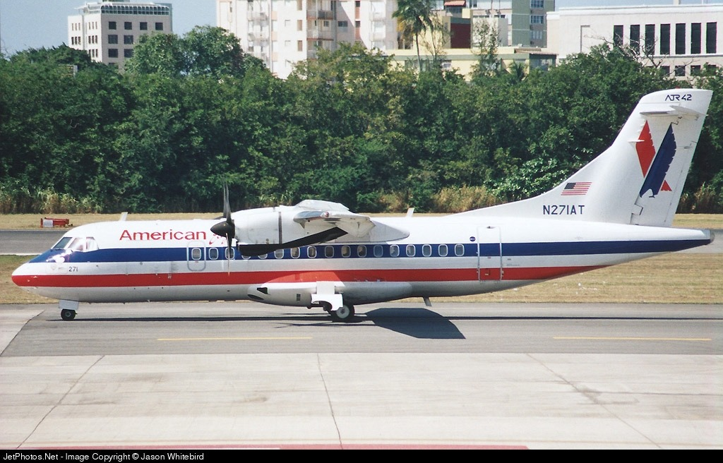 Photo of N271AT ATR 42-300 by Jason Whitebird
