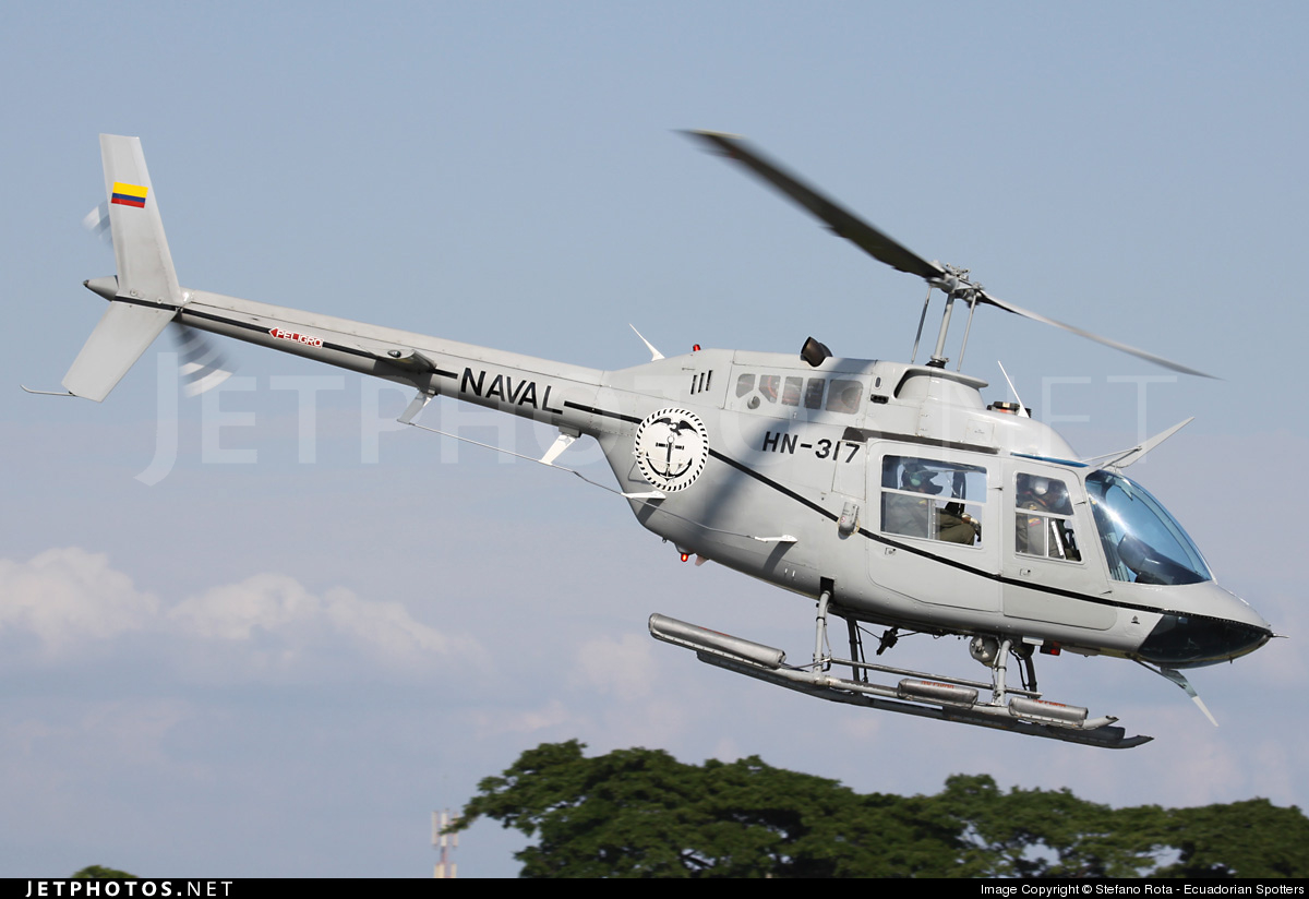 Photo of HN-317 Bell 206B JetRanger II by Stefano Rota - Ecuadorian Spotters
