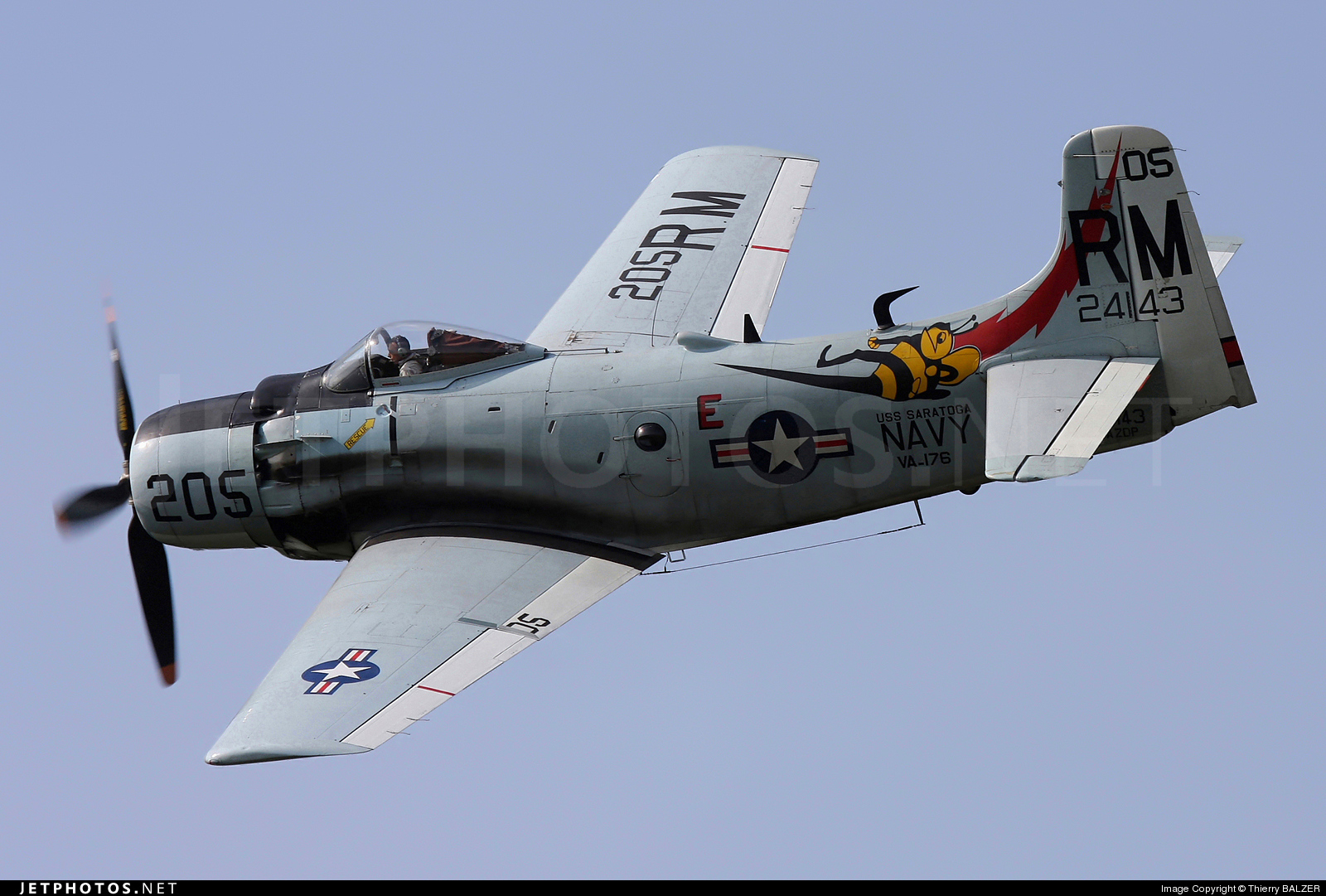 Photo of F-AZDP Douglas AD-4N Skyraider by Thierry BALZER