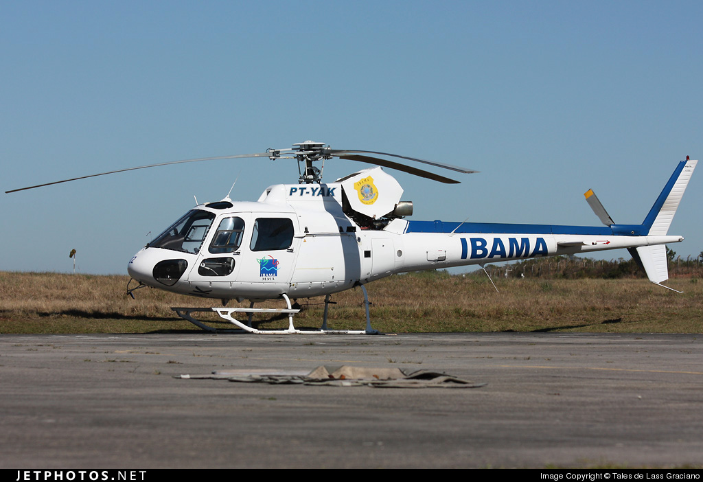 Photo of PT-YAK Eurocopter AS 350 Ecureuil by Tales de Lass Graciano