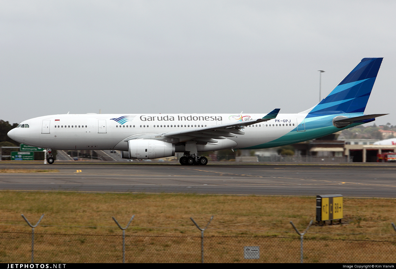 Photo of PK-GPJ Airbus A330-243 by Kim Vanvik