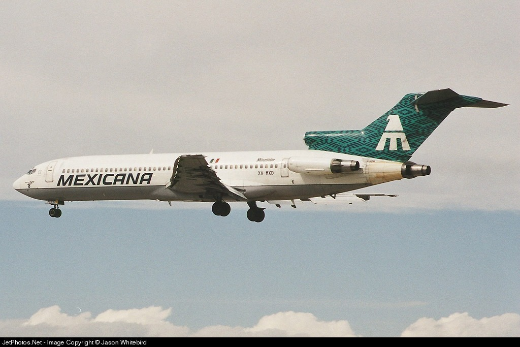 Photo of XA-MXD Boeing 727-264(Adv) by Jason Whitebird