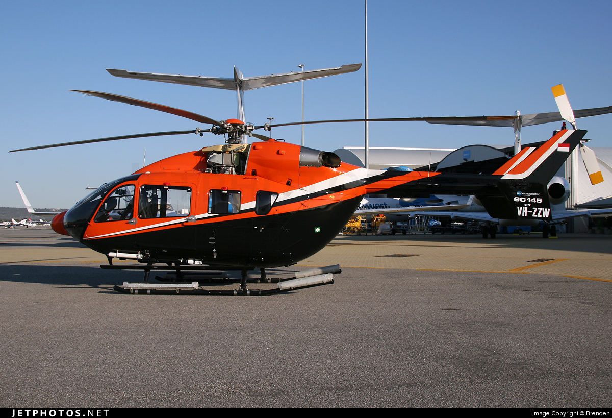 Photo of VH-ZZW Eurocopter EC 145 by Brenden