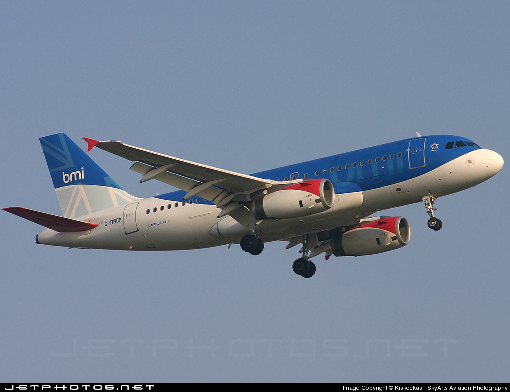 Photo of G-DBCK Airbus A319-131 by Kiskockas